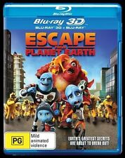 Escape From Planet Earth (Blu-ray ONLY, 2013)