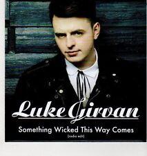 (EH961) Luke Girvan, Something Wicked This Way Comes - 2012 DJ CD