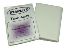 STARLITE TEAR AWAY (IRON ON) EMBROIDERY BACKING STABILISER 5 meters x 90cms