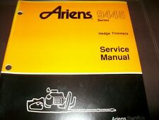 ariens 9445 hedge trimmers illustrated parts list service manual