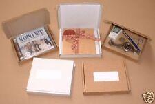 100 x WHITE PIZZA STYLE BOXES. PIP PERFECT 4 PHONE FASCIAS / CASES / BATTERIES