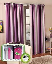 "One Alva Thermal Shield Window Panel Curtain 63"" Purple Energy Saving Home Decor"