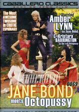 autographed AMBER LYNN & PORSCHE LYNN JANE BOND DVD COVER w/ PIC PROOF!
