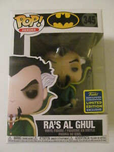 Funko Pop! Vinyl - Ra's Al Ghul - 2020 Summer Convention Exclusive - Light Wear