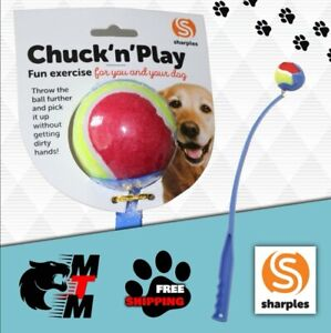 Dog ball thrower /Chuck 'n' Play dog throw toy / dog exercise / Dog Fitness  25""