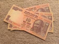 India 10 Rs Descending Order Fancy Number '765432'  UNC Condition