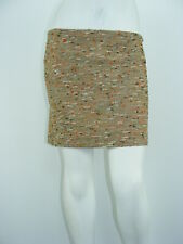 """DIANE VON FURSTENBERG Skirt Boucle Cotton Blend Above Knee Pencil Sz 10 - W33"""""""