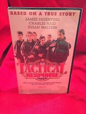 Tactical Response VHS Video Cassette Tape Warner Brothers Roadshow