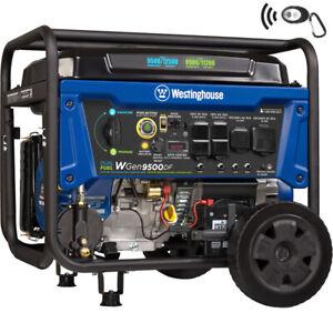 Westinghouse Refurbished WGen9500DF Dual Fuel Portable Generator