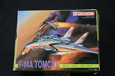 YL041 DRAGON 1/144 maquette avion 4552 F-14A Tomcat Wolf Pack Cag VF-1
