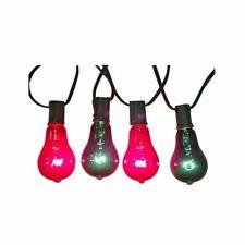 10LT RED/GRN Edison Set Vintage Bulbs