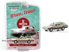 Greenlight 1:64 1970 Odlsmobile Vista Cruiser Texas A-1 Ambulancia 30066 Modelo