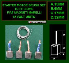 MOTORE di avviamento Pennelli e saldatura per alcune FIAT MAGNETI MARELLI JSX33-344 12 Volt