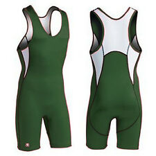 Brute Rogue YOUTH Wrestling Singlet Maroon Black Red Green Freestyle Folkstyle