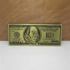 Boucle de Ceinture comme 100 $ Dollar USA Apparence Billets banque Buckle NEUF
