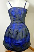 H & M Size UK 10 Fit & Flare Dress Fit & Flare Strappy Short With Pockets Pleats