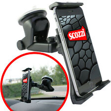 scozzi® Handyhalterung Auto Saugnapf Scheibe Universal KFZ Halter Smartphone