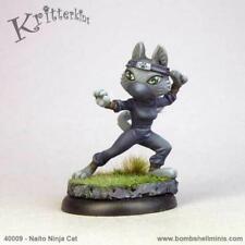 Bombshell Miniatures Kritterkins - Naito, Cat Ninja