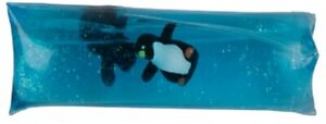 RAVENSDEN PENGUIN WATER SNAKE 12CM - T068P CUTE FISHY WATERY SQUEEZY SQUISH TOY