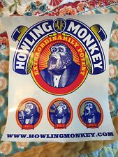 """HOWLING MONKEY ENERGY DRINK Clear Decal Sticker 8x10"""" High quality LOT of 10"""