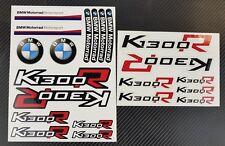 K1300R Motorrad Aufkleber blatt Laminiert stickers bmw s1300 R Motorsport