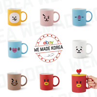 BT21 Character Basic Mug Cup & Cover (330ml) Official K-POP Authentic Goods