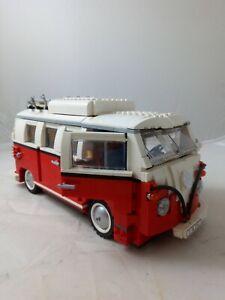 LEGO Creator 10220 Volkswagen T1 Camper Van, No Box and Manual, Ref:W1493