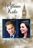 Mayreau 2010 - Royal Engagement Prince William & Kate Middleton - S/S - MNH
