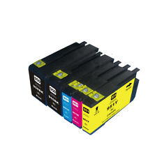 5PK NON-OEM  950XL 951XL Ink Cartridges for HP Officejet Pro 8600 Plus 8610 8640