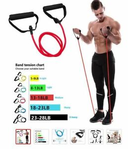 Resistance Traeners with Handles Yoga Pull Rope Elastic Fitness Exercise