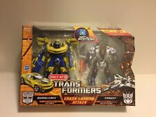 Hasbro Transformers Movie HFTD CRASH LANDING ATTACK Bumblebee and Thrust MISB