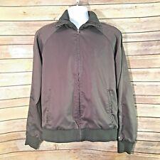 Vintage PUMA Mens Track Jacket Medium Charcoal Grey Full Zip