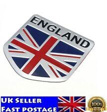 UK Flag England Car 3D GB Union Jack Shield Emblem Badge Decals Decor Sticker