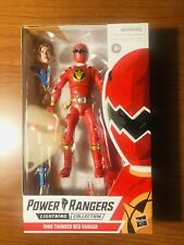 Power Rangers Lightning Collection Dino Thunder Red Rangers New in hand