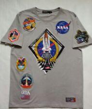 Hudson Outerwear NASA Silver T-Shirt Size L