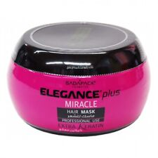 ELEGANCE PLUS MIRACLE HAIR MASK EXTRA KERATIN 17.6 OZ / 500 ML