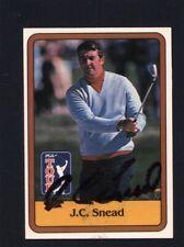 1981 Donruss Golf #54 J.C. Snead Signed Autographed Card JC LOA *533306