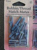 Hemline 12  Bobbin / Thread 10 Thread Mates Time Saving Spool & Bobbin Organizer