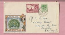 Burma. First day Cover, H.M. King George V1, 1938, Rangoon GPO