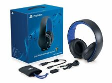 Official Sony PlayStation PS4 PS3 PS Vita Pc Mac Wireless Stereo Headphone NEW