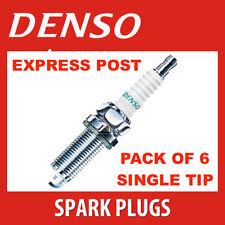 DENSO SPARK PLUG K20PR-U11 X 6 - Ford Courier Laser Honda CIVIC MAGNA TRITON