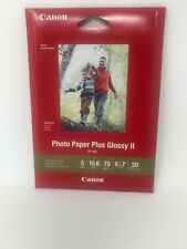 New Canon 5x7 glossy photo paper II 20 Sheets