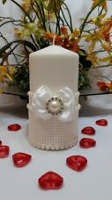 Set of candles designed for a wedding ceremony.Wedding accessories.
