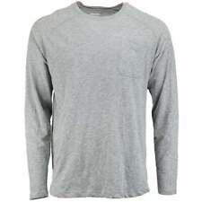 2(X)IST  Activewear Baseball Pocket Crew Mens  Top     - Grey
