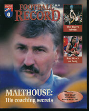 1995 AFL Football Record West Coast Eagles v Essendon Bombers May 21 unmarked