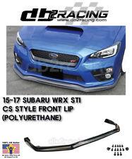 CS-Style Front Lip (Urethane) Fits 15-17 Subaru WRX STi JDM
