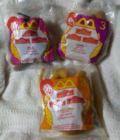 Vtg 1998 Lion King II Simba's Pride McDonald's Soft Toy Rafiki Timon Simba NIP