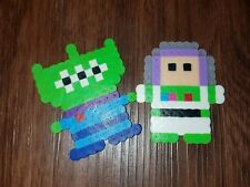 Buzz Lightyear and alien Toy story Perler toys