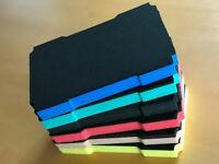 Koffereinlage Hartschaum f. Tanos FESTOOL MINI-systainer T-Loc, 6 Farben 30mm