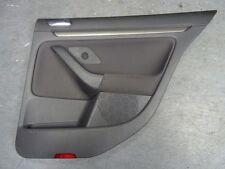 *VW GOLF MK5 2004-2009 DRIVER RIGHT REAR DOOR CARD ELECTRIC